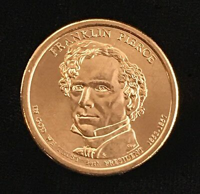 Gem Proof Deep Cameo 2010-S Franklin Pierce Presidential Dollar