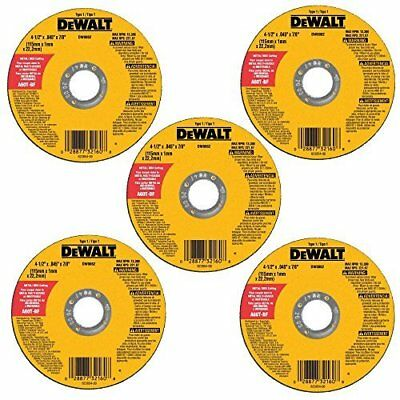 4-1/2-Inch Right Angle Grinder Kit Blades Metal and Stainless Cutting Wheel disk