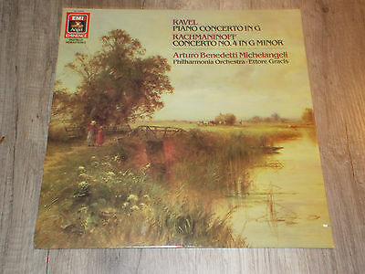 Piano Concerto in G Ravel - Concerto Nr. 4 Rachmaninoff - LP - Vinyl - Angel