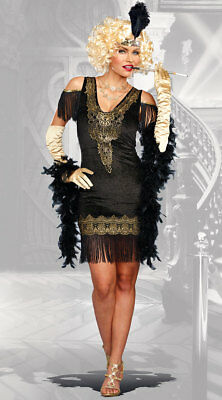 Small Womens Swanky Flapper Costume