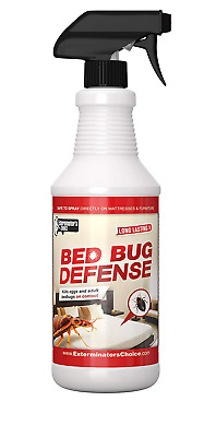 Exterminators Bed Bug Defense Repellent Killer- By BedBug32oz, Effective Spray