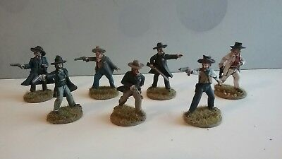 Old Glory miniatures 25mm/28mm Painted Old West Wild West Cowboys (1)