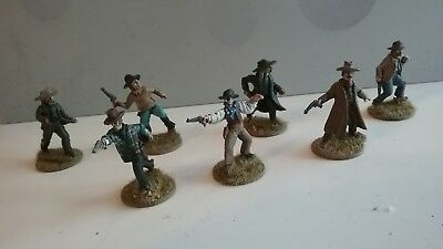 Old Glory miniatures 25mm/28mm Painted Old West Wild West Cowboys (2)