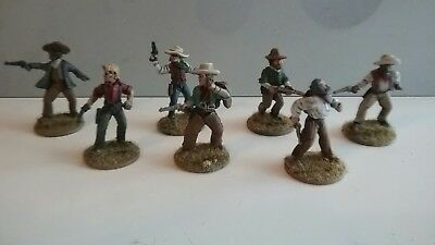 Old Glory miniatures 25mm/28mm Painted Old West Wild West Cowboys (3)