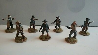 Old Glory miniatures 25mm/28mm Painted Old West Wild West Cowboys (4)
