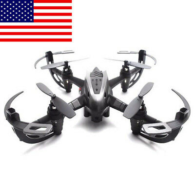 LED RC Quadcopter Headless Mode RTF 360° 3 with HD Camera Mini Drones NEW US HOT