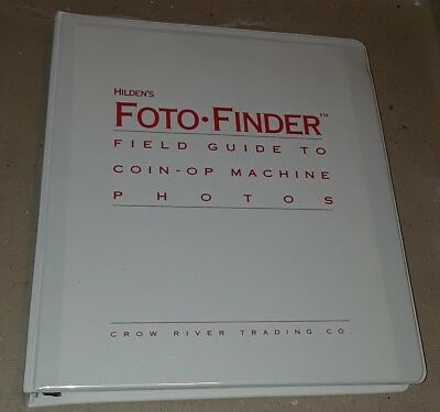 Foto-Finder Coin Operated Machine Photo Guide Pinball Vending Arcade Slots