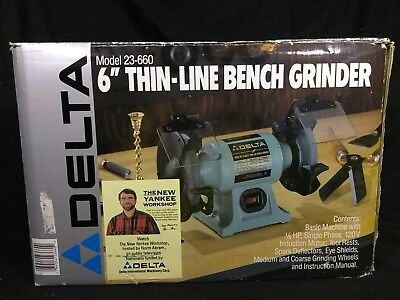 Superb Delta Model 23 660 6 Thin Line Bench Grinder New Dailytribune Chair Design For Home Dailytribuneorg