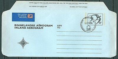 SOUTH AFRICA 1979 INLAND AIR LETTER AEROGRAMME 4c -CAG 040717