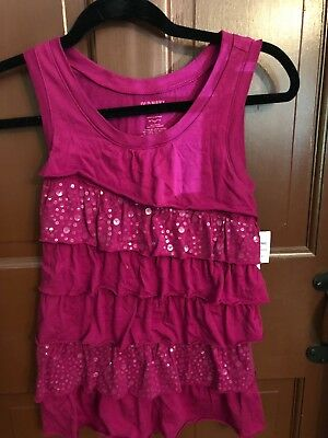 Girls'Size L Tank Top NWT, Purple OLD Navy