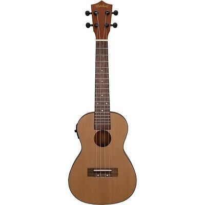 Mitchell MU50SE Acoustic-Electric Concert Ukulele with Solid Cedar Top Natural