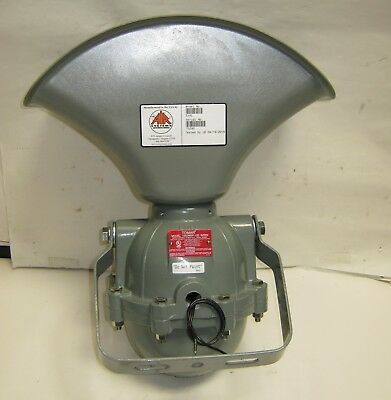 Air Sys. Tomar Power Alarm Siren (1002WEP-120) 120 VAC Explosion-Proof 110dbA