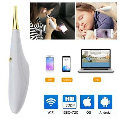 Wireless Digital Ear Otoscope with 6 LED Inspection Camera Earwax Cleaning H-Q