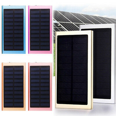 Ultra-Thin Solar Charging Treasure 6000mAh Fast Charge Solar Mobile Power 1PCS