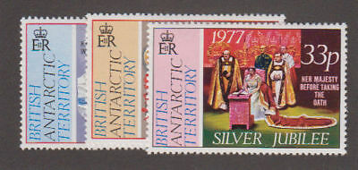 Br. Ant. Territory - 1977 Silver Jubilee Set. Sc. #68-70 SG #83-5. Mint