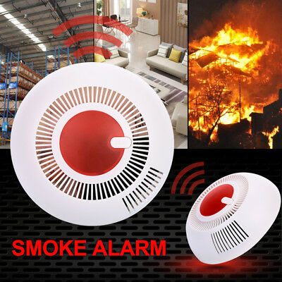 FAF3 Protection Sound Smoke Detector Independent 85dB ABS Warning Equipment