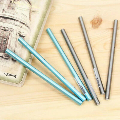 0.5mm Simple Metal Color Pen Gel Pen as Stationery Office Supplies Perfect Gift