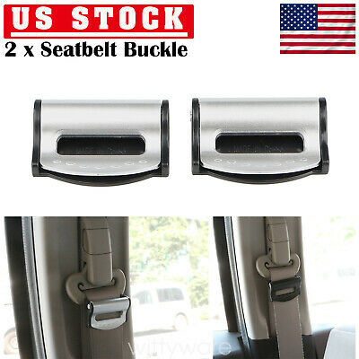 Comfort Belt Safety Adjuster Clip Clamp Buckle Seatbelt Stopper  Car Seat