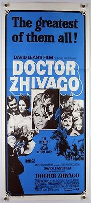 Doctor Zhivago OMAR SHARIF JULIE CHRISTIE TOM COURTENAY DAVID LEAN 1965/70sRR