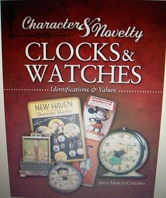 Vintage WATCH & CLOCK PRICE GUIDE COLLECTOR BOOK