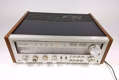 Vtg Realistic STA-2000 AM FM Stereo Reciever With Walnut Trim Tested Working