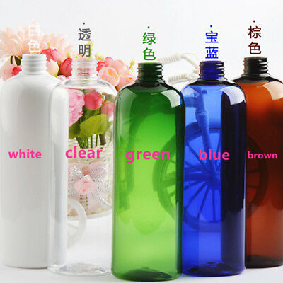 1pc 500ml Empty Plastic Spray Bottles for Water Lotion Shampoo Liquid Pump Hot