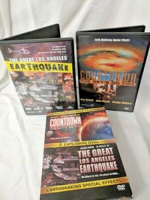 disaster double feature countdown the great los angeles earthquake VHS