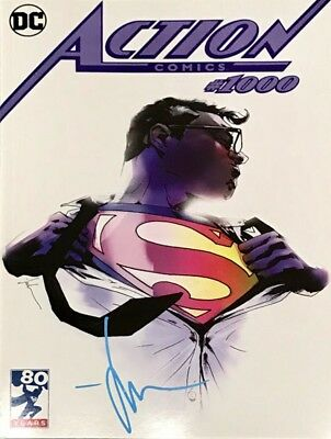 Action Comics #1000 Limited Edition Exclusive Jock Variant Signed Dc Comics