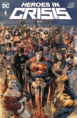 Heroes In Crisis #1 (Of 7) Dc Comics Near Mint 9/26/18