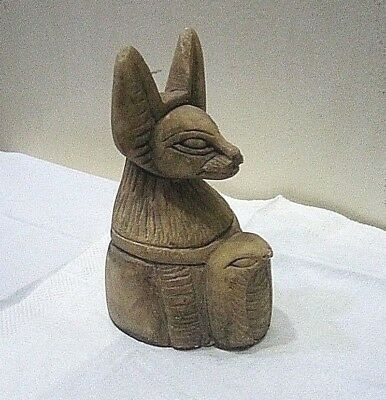 RARE ANCIENT EGYPTIAN ANTIQUE ANUBIS With Snake 1830-1620 BC