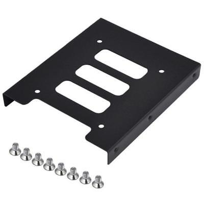 """2.5"""" to 3.5in SSD to HDD Metal Mounting Adapter Bracket Dock Hard Drive Holder"""