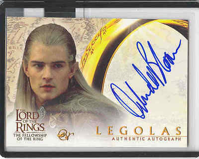 LOTR FOTR Fellowship of the Ring AUTO Legolas/Bloom