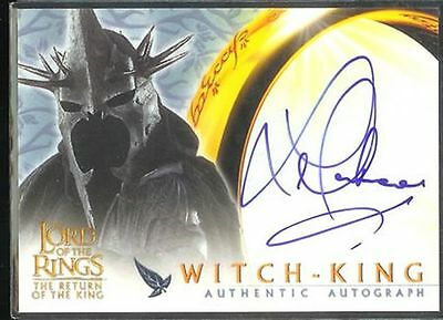 Lotr Rotk Return Of The King Auto Lawrence Makoare / King