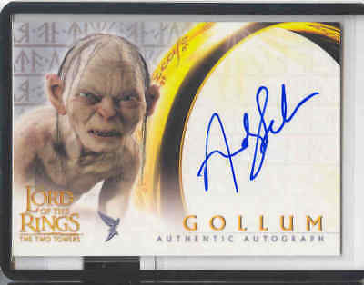 Lotr Ttt The Two Türme Neufassung Auto Gollum / Andy Serkis