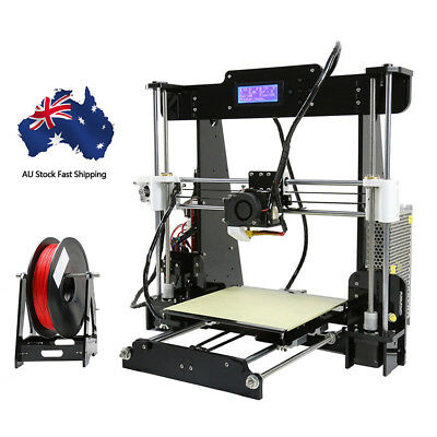 On Sale:Anet A8 DIY 3D Printer Kit 1.75mm / 0.4mm Support ABS / PLA / HIPS AU