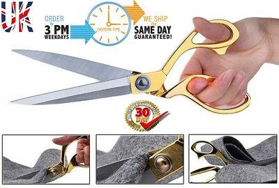 Professional TAILORING SCISSORS STAINLESS STEEL DRESSCUTTING SHEARS FABRIC CRAFT
