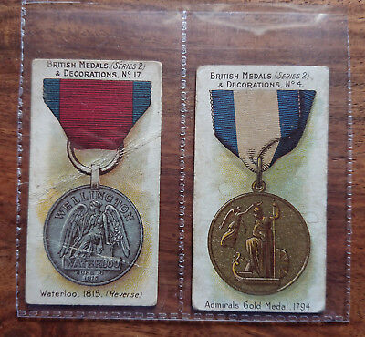 "TADDY & CO., London ""British Medals & Decorations"" N° 17 & N° 4 #E-71 (TC-11)"