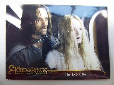 TOPPS Lord of the Rings: The Two Towers - Card #36 THE EXORCISM