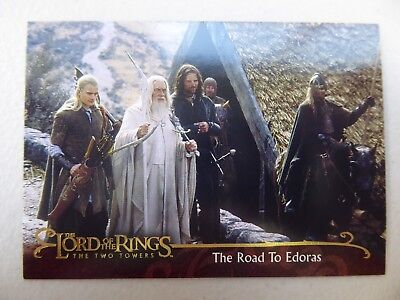 TOPPS Lord of the Rings: The Two Towers - Card #34 THE ROAD TO EDORAS