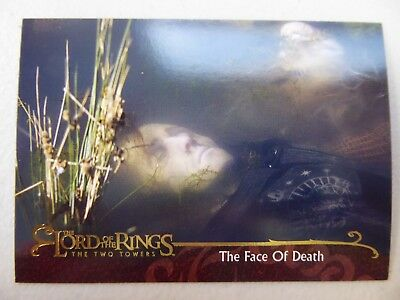 TOPPS Lord of the Rings: The Two Towers - Card #31 THE FACE OF DEATH