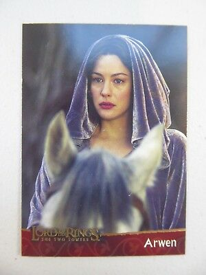 TOPPS Lord of the Rings: The Two Towers - Card #16 ARWEN