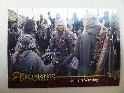 TOPPS Lord of the Rings: The Two Towers - Card #22 EOMER'S WARNING