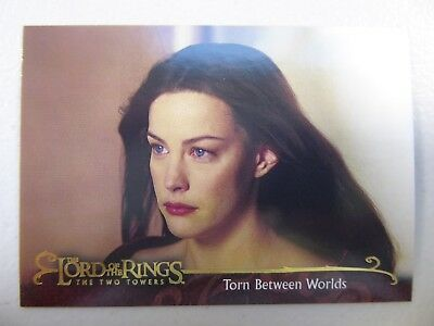 TOPPS Lord of the Rings: The Two Towers - Card #48 TORN BETWEEN WORLDS