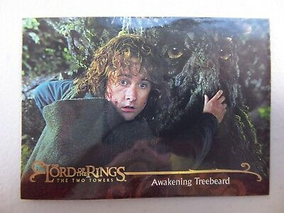 TOPPS Lord of the Rings: The Two Towers - Card #102 AWAKENING TREEBEARD
