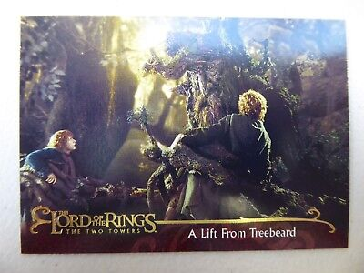 TOPPS Lord of the Rings: The Two Towers - Card #25 A LIFT FROM TREEBEARD