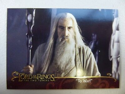 "TOPPS Lord of the Rings: The Two Towers - Card #62 ""TO WAR!"""