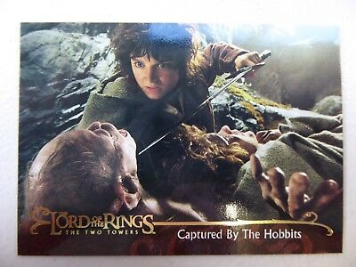 TOPPS Lord of the Rings: The Two Towers - Card #98 CAPTURED BY THE HOBBITS