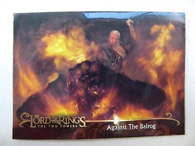 TOPPS Lord of the Rings: The Two Towers - Card #92 AGAINST THE BALROG