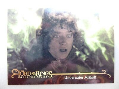 TOPPS Lord of the Rings: The Two Towers - Card #106 UNDERWATER ASSAULT