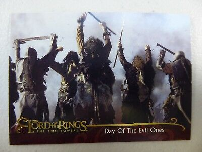 TOPPS Lord of the Rings: The Two Towers - Card #42 DAY OF THE EVIL ONES
